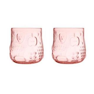 イッタラ(iittala)のイッタラ フルッタ タンブラー サーモンピンク 2個 グラス ピンク(グラス/カップ)