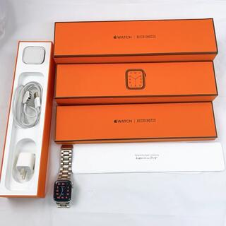 Apple Watch Hermès  series 6 最新版40mm シルバ(その他)