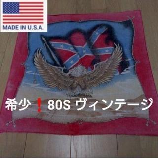 ハーレーダビッドソン(Harley Davidson)の新品❗◆希少80S『made in USA』バンダナ イーグル ハーレー (バンダナ/スカーフ)
