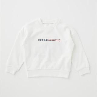 ロデオクラウンズワイドボウル(RODEO CROWNS WIDE BOWL)の☆RODEOCROWNSWIDEBOWL キッズビッグタグスウェットトップス(Tシャツ/カットソー)