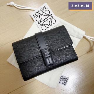ロエベ(LOEWE)のLOEWE<新品レシート付き>スモールバーティカル財布 ♪ブラック(財布)