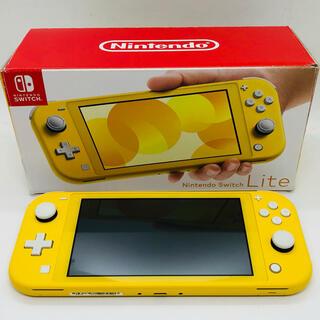 ニンテンドースイッチ(Nintendo Switch)のSwitch Lite (イエロー)本体(携帯用ゲーム機本体)