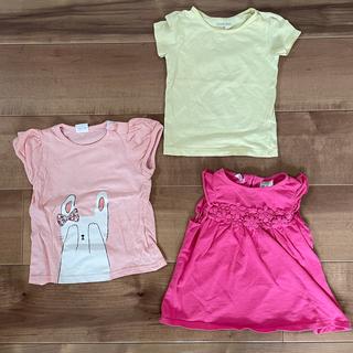 ザラ(ZARA)の80サイズ ZARA 女の子 Tシャツセット 保育園(Tシャツ)