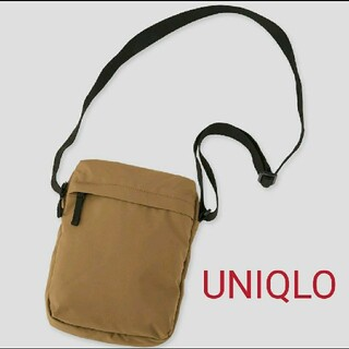 ユニクロ(UNIQLO)のユニクロ ミニショルダーバッグ ブラウン(ショルダーバッグ)