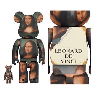 メディコムトイ(MEDICOM TOY)のレオナルド・ダ・ヴィンチ Mona Lisa 100% & 400% ベアセット(その他)