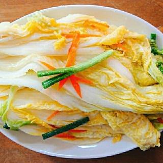 【クール便】本場韓国家庭の味☆ペク(白)キムチ 300g(野菜)