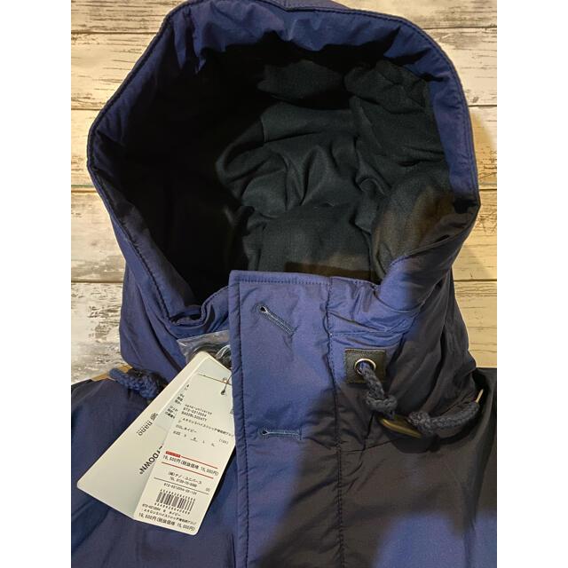 nano・universe(ナノユニバース)の送料込み ナノユニバース Mサイズ ネイビー メンズのジャケット/アウター(ダウンジャケット)の商品写真
