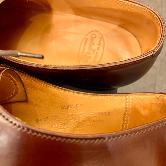 Crockett&Jones(クロケットアンドジョーンズ)の極美品❗️コードバン 《CROCKETT&JONES》 傑作AUDLEY 7E メンズの靴/シューズ(ドレス/ビジネス)の商品写真