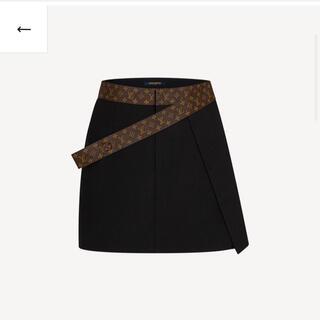 ルイヴィトン(LOUIS VUITTON)のルイヴィトン スカート 2021春夏 新品 国内完売(ひざ丈スカート)