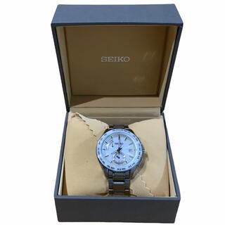 セイコー(SEIKO)の【美品】セイコーブライツソーラー電波SAGA165SS製+セラミック10BAR(腕時計(アナログ))