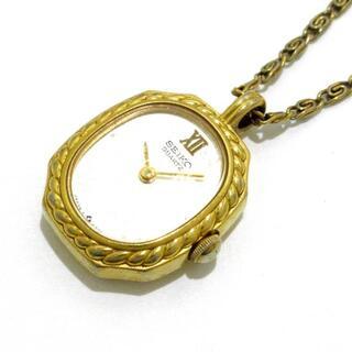 セイコー(SEIKO)のセイコー ネックレス - 金属素材 ゴールド(ネックレス)
