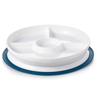 オクソートット くっつくプレート ブルー(プレート/茶碗)