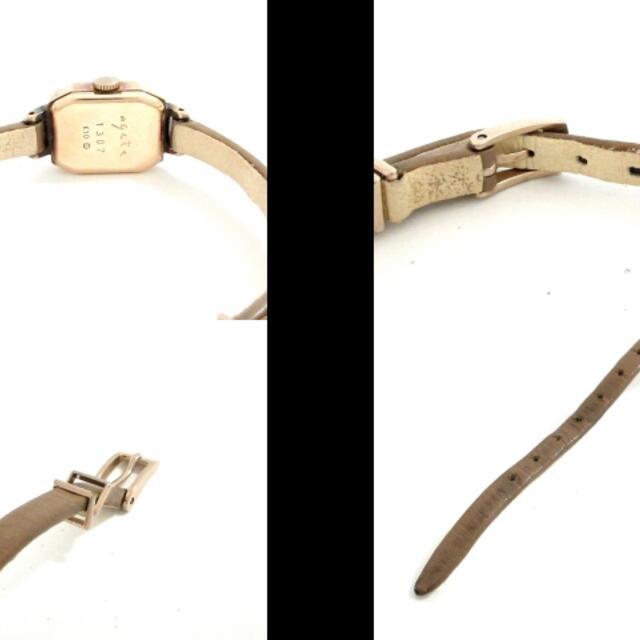 agete(アガット)のagete(アガット) 腕時計 - レディース レディースのファッション小物(腕時計)の商品写真