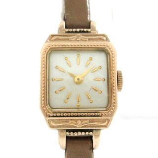 アガット(agete)のagete(アガット) 腕時計 - レディース(腕時計)