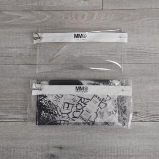 エムエムシックス(MM6)のMM6 メゾンマルジェラ クリアポーチ(ポーチ)