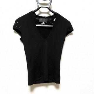 ジャンニヴェルサーチ(Gianni Versace)のジャンニヴェルサーチ 半袖セーター 38 S(ニット/セーター)