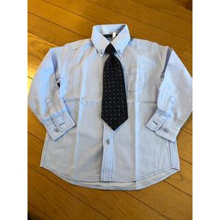 ヒロミチナカノ(HIROMICHI NAKANO)の男の子 シャツ ワイシャツ 120ネクタイセット(ドレス/フォーマル)