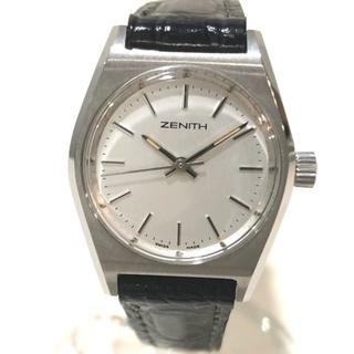 ゼニス(ZENITH)のゼニス 01.0480.210 レディース腕時計 手巻き 腕時計 SS×革ベルト(腕時計)