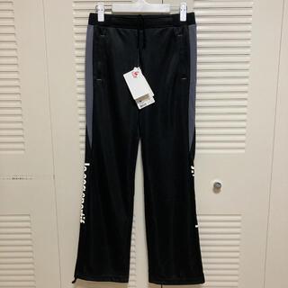 ルコックスポルティフ(le coq sportif)の新品タグ付♡ ルコック パンツ ジャージ ズボン 黒 Mサイズ(トレーニング用品)