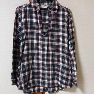 アップタイト(uptight)のUPTIGHTチェックシャツ ネルシャツ フリーサイズ(シャツ/ブラウス(長袖/七分))