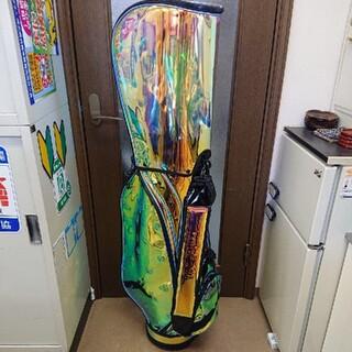 ホンマゴルフ(本間ゴルフ)の【新品】 本間 ホンマゴルフ スケルトン ブラック キャディバッグ 非売品(バッグ)