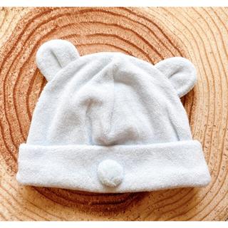 アカチャンホンポ(アカチャンホンポ)のベビー帽子 🧸 クマさん耳付き帽子(帽子)