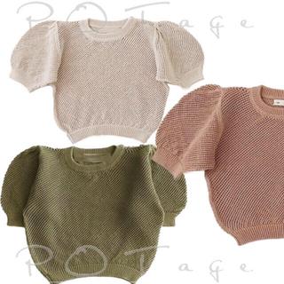 Caramel baby&child  - SP サマーニット 実物&新色 確認用