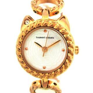 ツモリチサト(TSUMORI CHISATO)のツモリチサト 腕時計美品  リトルネコバラ(腕時計)