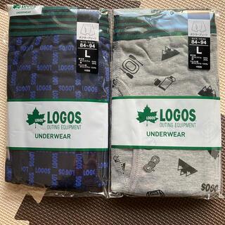LOGOS - LOGOS ロゴス ボクサーパンツ Lサイズ2枚セット