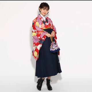 ピンクラテ(PINK-latte)のピンクラテ 袴  髪飾りセット(和服/着物)