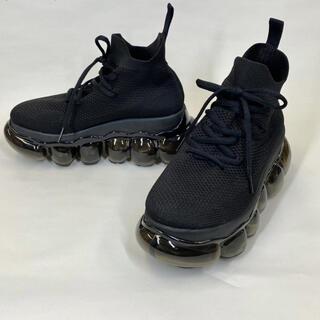 ミキオサカベ(MIKIO SAKABE)のmikio  sakabe新品jewerly high shoes black(スニーカー)