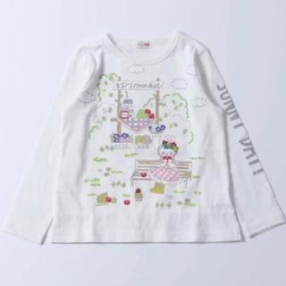 ニットプランナー(KP)のKP TioTio抗ウイルス加工 mimiちゃん 長袖Tシャツ 140cm(Tシャツ/カットソー)