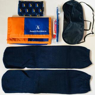 オーストラリアの航空会社 アンセットオーストラリア航空のアメニティセット 廃盤(旅行用品)