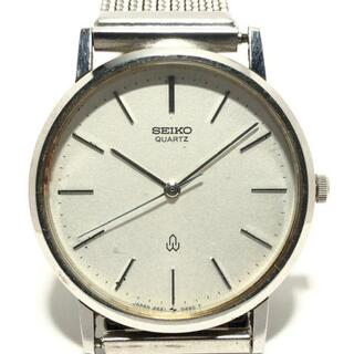 セイコー(SEIKO)のセイコー 腕時計 - 2621-0140 メンズ 白(その他)
