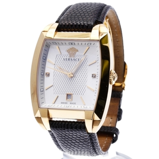 ヴェルサーチ(VERSACE)のヴェルサーチェ 腕時計 メンズ 美品(腕時計(アナログ))