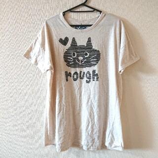 ラフ(rough)のrough ネコ イラスト Tシャツ(Tシャツ(半袖/袖なし))