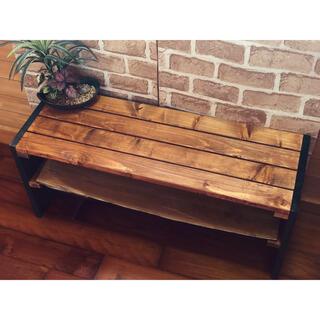 ローテーブル 木製 センターテーブル 収納スペース(ローテーブル)