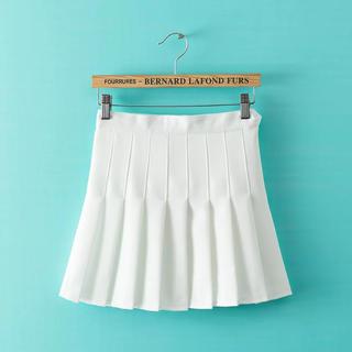 テニススカート ミニスカート プリーツスカート スカパン オルチャンファッション(ミニスカート)