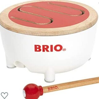 ブリオ(BRIO)のBRIO おもちゃ 太鼓  (知育玩具)