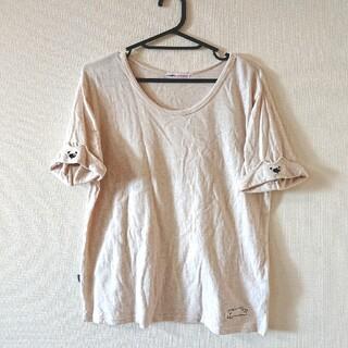 ラフ(rough)のrough シロクマ ワッペン 袖 Tシャツ(Tシャツ(半袖/袖なし))