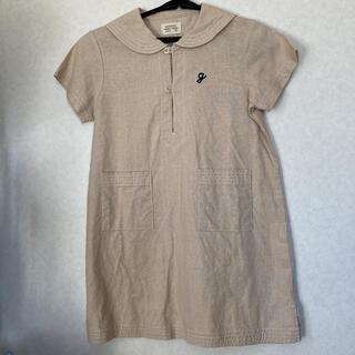 アカチャンホンポ(アカチャンホンポ)のワンピース サイズ110 半袖 麻綿(ワンピース)