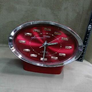 シチズン(CITIZEN)の70年代昭和レトロ シチズン置時計 ゼンマイ式(置時計)