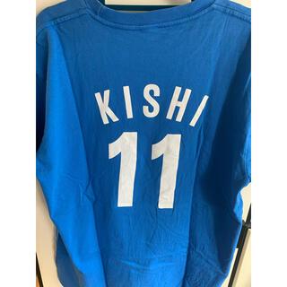 西武ライオンズ 岸選手 Tシャツ(Tシャツ/カットソー(半袖/袖なし))