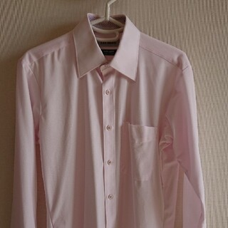 アオキ(AOKI)のAOKI LES MUES ワイシャツ ピンク(シャツ)