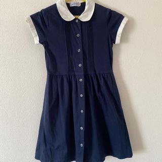ミキハウス(mikihouse)のミキハウス お受験 紺 ワンピース 入学式 フォーマル(ドレス/フォーマル)