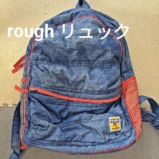 ラフ(rough)のrough ナイロン素材リュック(リュック/バックパック)
