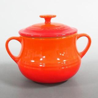 ルクルーゼ(LE CREUSET)のルクルーゼ 食器新品同様  - オレンジ(その他)