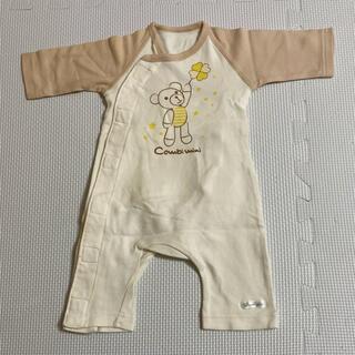 コンビミニ(Combi mini)のベビー服 50〜55センチ(カバーオール)