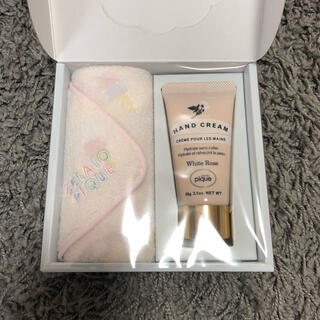 gelato pique - GELATO PIQUE★ギフトセット ハンドクリームハンカチ