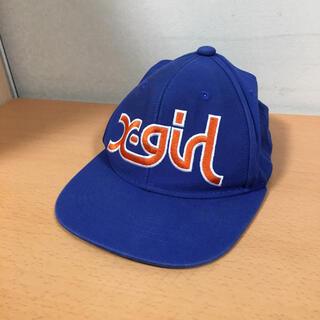 エックスガール(X-girl)のエックスガール X-girl ロゴ キャップ 帽子 フリーサイズ(キャップ)